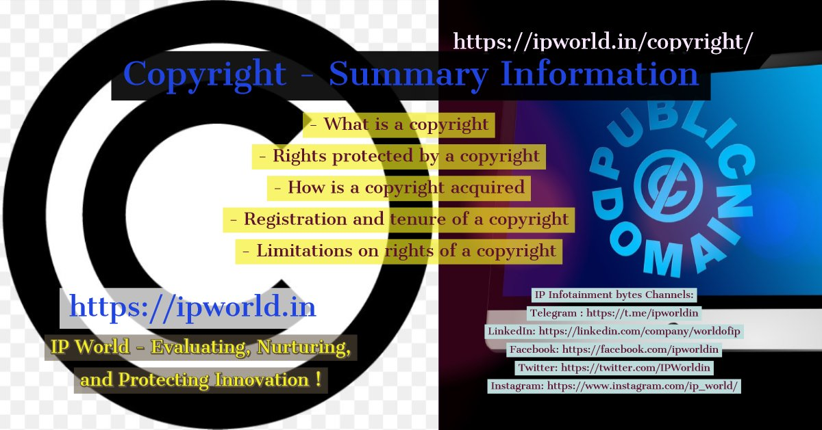 Copyright - Summary Information