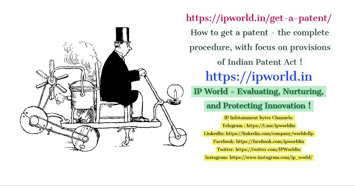 Get a Patent - the complete procedure